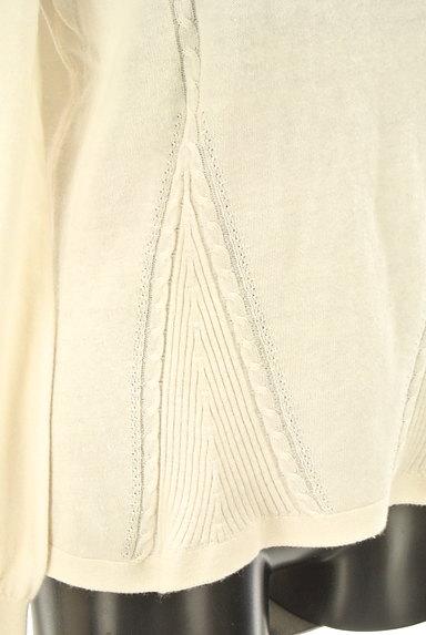 Laura Ashley(ローラアシュレイ)の古着「ケーブル編み&リブニットトップス(ニット)」大画像4へ