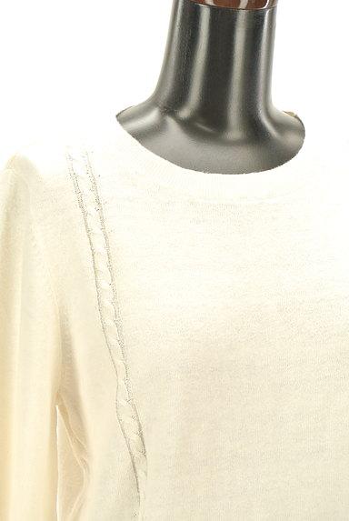 Laura Ashley(ローラアシュレイ)の古着「ケーブル編み&リブニットトップス(ニット)」大画像5へ