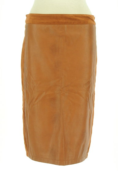 Laura Ashley(ローラアシュレイ)の古着「フェイクレザータイトスカート(スカート)」大画像1へ