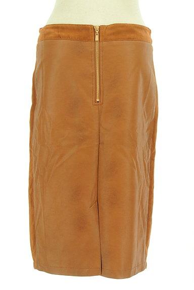 Laura Ashley(ローラアシュレイ)の古着「フェイクレザータイトスカート(スカート)」大画像2へ