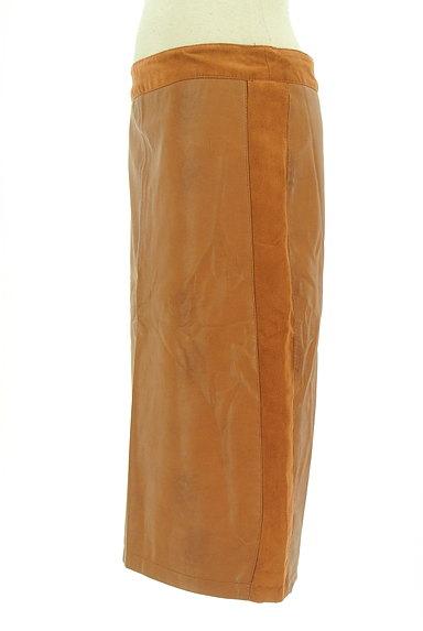 Laura Ashley(ローラアシュレイ)の古着「フェイクレザータイトスカート(スカート)」大画像3へ