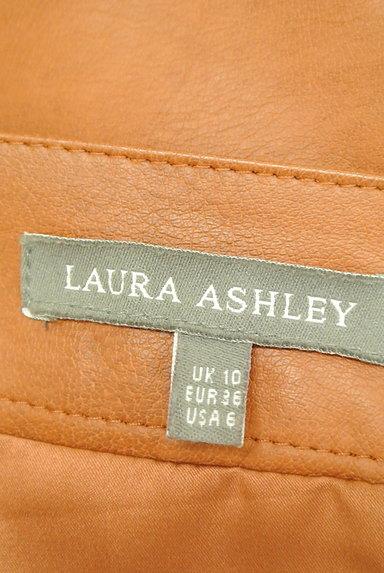 Laura Ashley(ローラアシュレイ)の古着「フェイクレザータイトスカート(スカート)」大画像6へ