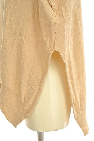 HARICOT ROUGE(ハリコットルージュ)の古着「サイドスリットニットトップス(ニット)」大画像4へ