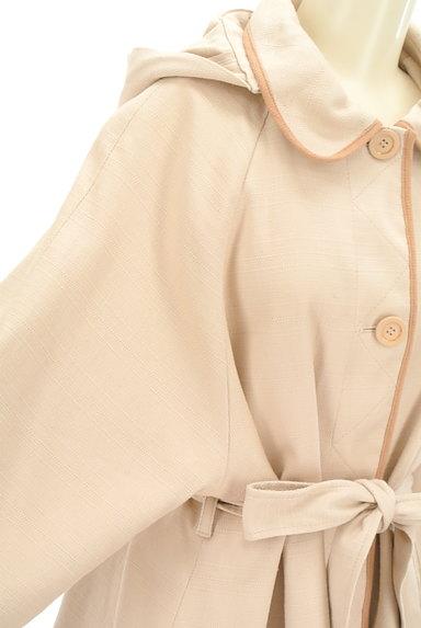 mimi&roger(ミミ&ロジャー)の古着「ウエストリボンミドル丈コート(コート)」大画像5へ