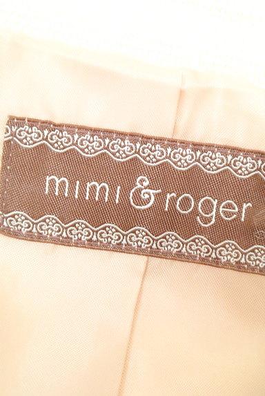 mimi&roger(ミミ&ロジャー)の古着「ウエストリボンミドル丈コート(コート)」大画像6へ