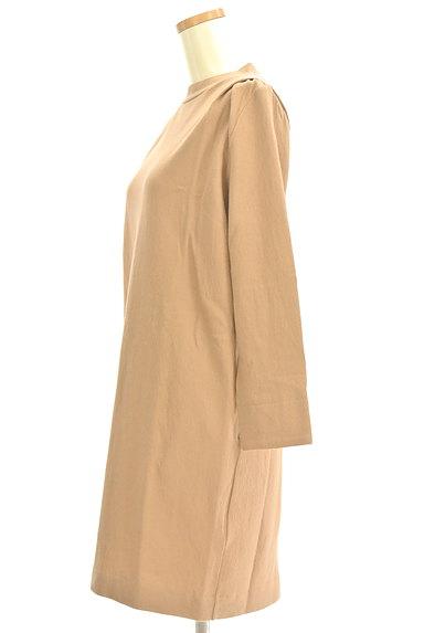 Droite lautreamont(ドロワットロートレアモン)の古着「モックネック膝丈ワンピース(ワンピース・チュニック)」大画像3へ