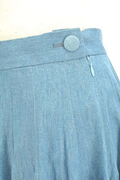 AMIW(アミウ)の古着「タックフレアスカート(スカート)」大画像4へ