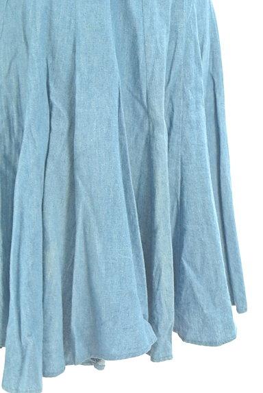 AMIW(アミウ)の古着「タックフレアスカート(スカート)」大画像5へ