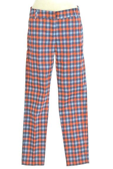 MAX&Co.(マックス&コー)の古着「チェック柄ストレートパンツ(パンツ)」大画像1へ