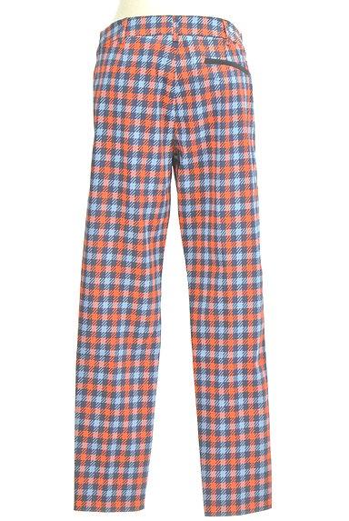 MAX&Co.(マックス&コー)の古着「チェック柄ストレートパンツ(パンツ)」大画像2へ