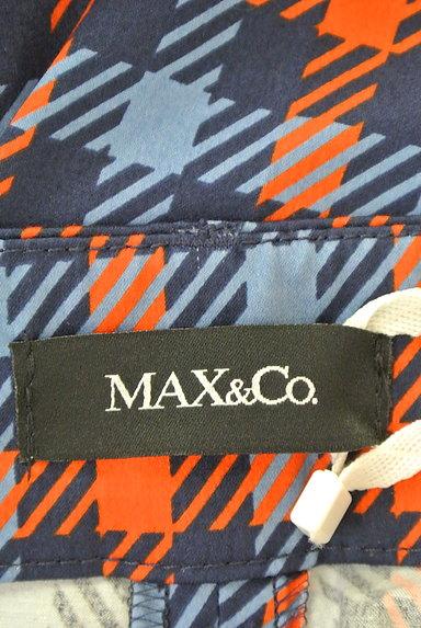 MAX&Co.(マックス&コー)の古着「チェック柄ストレートパンツ(パンツ)」大画像6へ