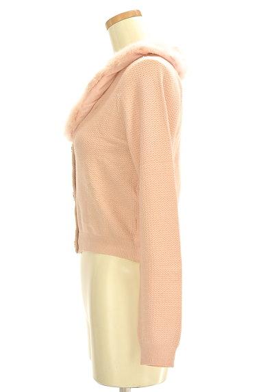 WILLSELECTION(ウィルセレクション)の古着「ファー襟カラーカーディガン(カーディガン・ボレロ)」大画像3へ