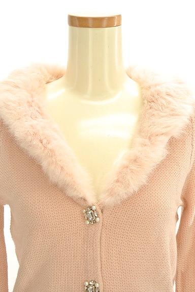 WILLSELECTION(ウィルセレクション)の古着「ファー襟カラーカーディガン(カーディガン・ボレロ)」大画像4へ