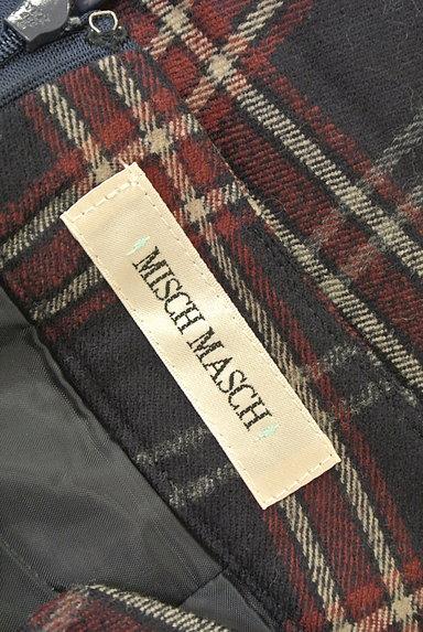 MISCH MASCH(ミッシュマッシュ)の古着「チェック柄ウールセミタイトスカート(スカート)」大画像6へ