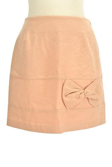 WILLSELECTION(ウィルセレクション)の古着「リボンデザイン台形ミニスカート(ミニスカート)」大画像1へ