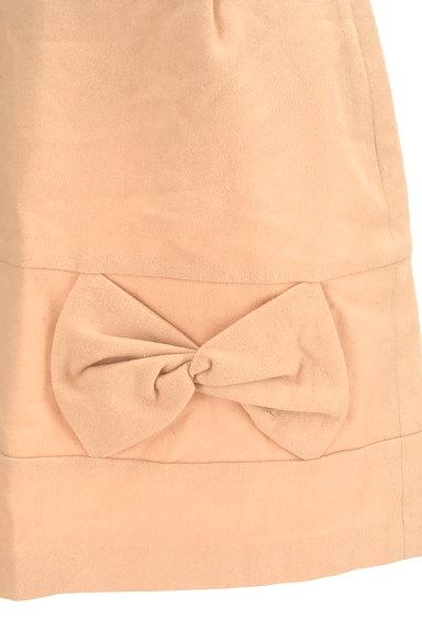 WILLSELECTION(ウィルセレクション)の古着「リボンデザイン台形ミニスカート(ミニスカート)」大画像4へ