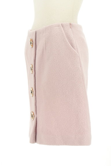 31 Sons de mode(トランテアン ソン ドゥ モード)の古着「ビジューボタン台形スカート(スカート)」大画像3へ