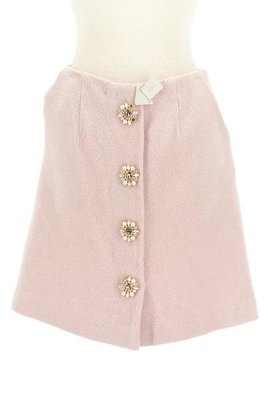 31 Sons de mode(トランテアン ソン ドゥ モード)の古着「ビジューボタン台形スカート(スカート)」大画像4へ