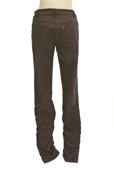 MK MICHEL KLEIN(エムケーミッシェルクラン)の古着「シャーリングチェック柄パンツ(パンツ)」大画像2へ
