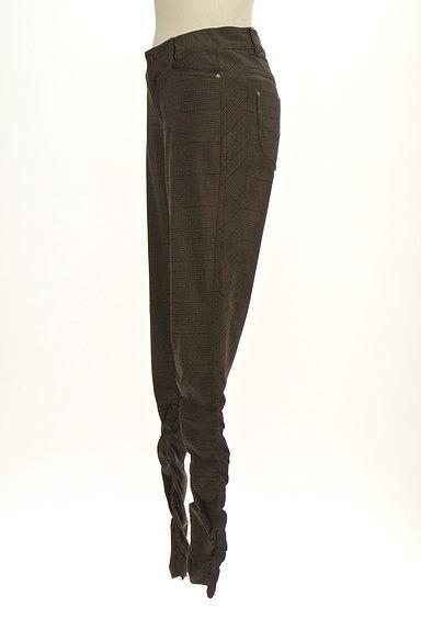 MK MICHEL KLEIN(エムケーミッシェルクラン)の古着「シャーリングチェック柄パンツ(パンツ)」大画像3へ