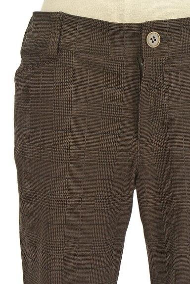 MK MICHEL KLEIN(エムケーミッシェルクラン)の古着「シャーリングチェック柄パンツ(パンツ)」大画像4へ
