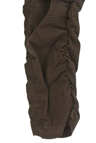 MK MICHEL KLEIN(エムケーミッシェルクラン)の古着「シャーリングチェック柄パンツ(パンツ)」大画像5へ