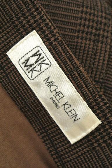 MK MICHEL KLEIN(エムケーミッシェルクラン)の古着「シャーリングチェック柄パンツ(パンツ)」大画像6へ