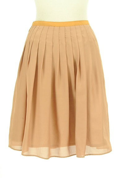 ROPE(ロペ)の古着「ギャザーフレア膝丈スカート(スカート)」大画像2へ