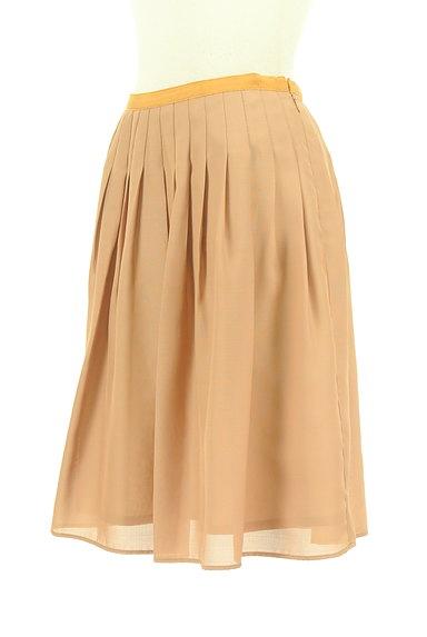 ROPE(ロペ)の古着「ギャザーフレア膝丈スカート(スカート)」大画像3へ