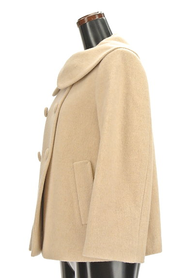Bon mercerie(ボンメルスリー)の古着「丸襟ダブルボタンコート(コート)」大画像3へ