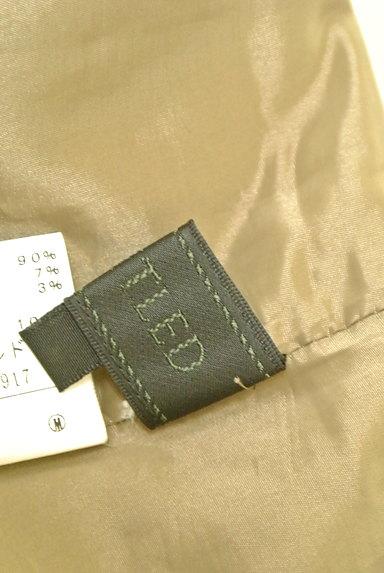 UNTITLED(アンタイトル)の古着「ハイウエストタックスカート(スカート)」大画像6へ