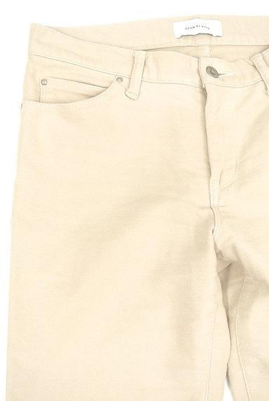 Adam et Rope(アダムエロペ)の古着「シンプルコットンパンツ(パンツ)」大画像5へ