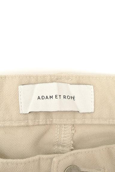 Adam et Rope(アダムエロペ)の古着「シンプルコットンパンツ(パンツ)」大画像6へ