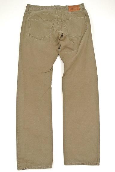 Adam et Rope(アダムエロペ)の古着「革ポケットストレートパンツ(パンツ)」大画像2へ