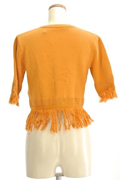 MURUA(ムルーア)の古着「フリンジカーディガン(カーディガン・ボレロ)」大画像2へ