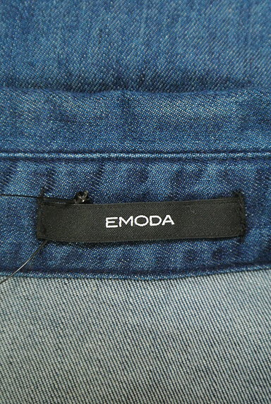 EMODA(エモダ)の古着「フリンジデニムシャツ(カジュアルシャツ)」大画像6へ
