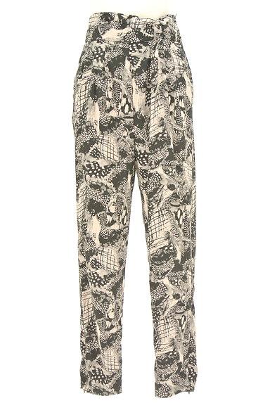 MURUA(ムルーア)の古着「モノトーンファスナースリットパンツ(パンツ)」大画像1へ
