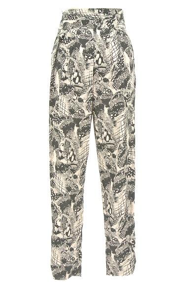 MURUA(ムルーア)の古着「モノトーンファスナースリットパンツ(パンツ)」大画像2へ