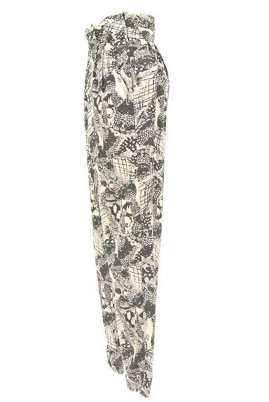 MURUA(ムルーア)の古着「モノトーンファスナースリットパンツ(パンツ)」大画像3へ