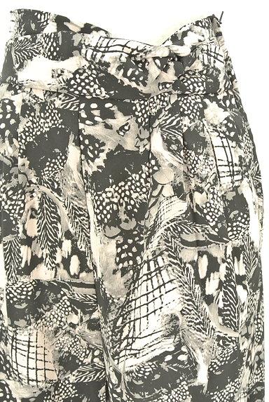 MURUA(ムルーア)の古着「モノトーンファスナースリットパンツ(パンツ)」大画像4へ