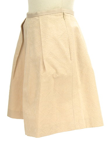 JUSGLITTY(ジャスグリッティー)の古着「ダマスク柄ジャガードフレアスカート(ミニスカート)」大画像3へ