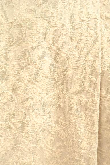 JUSGLITTY(ジャスグリッティー)の古着「ダマスク柄ジャガードフレアスカート(ミニスカート)」大画像4へ