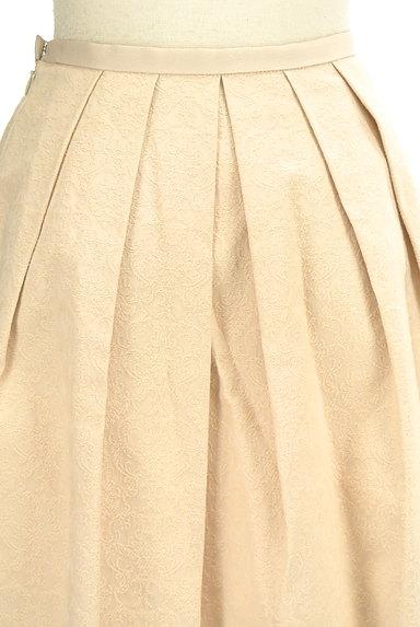 JUSGLITTY(ジャスグリッティー)の古着「ダマスク柄ジャガードフレアスカート(ミニスカート)」大画像5へ
