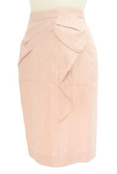 JUSGLITTY(ジャスグリッティー)の古着「サイドフリルタイトミニスカート(ミニスカート)」大画像3へ
