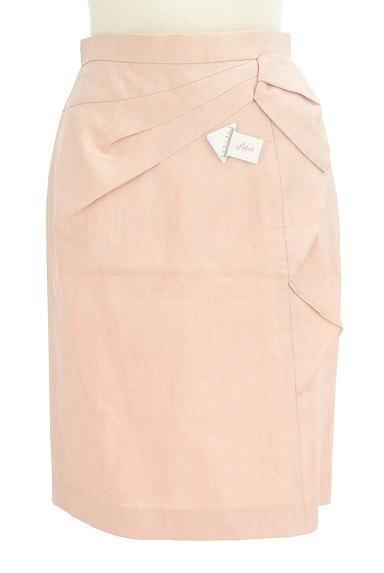 JUSGLITTY(ジャスグリッティー)の古着「サイドフリルタイトミニスカート(ミニスカート)」大画像4へ