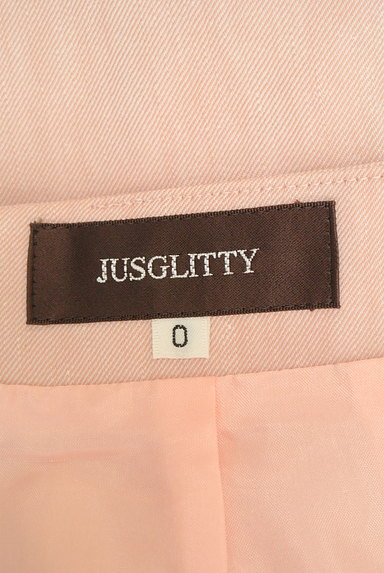 JUSGLITTY(ジャスグリッティー)の古着「サイドフリルタイトミニスカート(ミニスカート)」大画像6へ