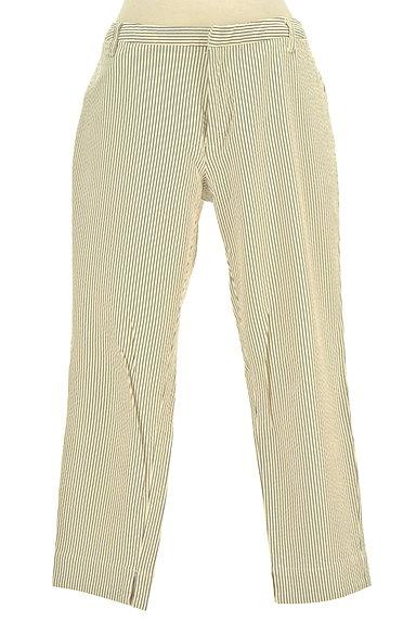 FLORENT(フローレント)の古着「ストライプ柄テーパードパンツ(パンツ)」大画像1へ