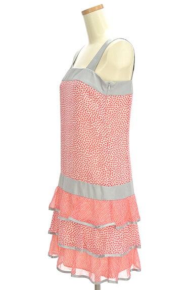 PROPORTION BODY DRESSING(プロポーションボディ ドレッシング)の古着「サテンティアードキャミワンピース(キャミワンピース)」大画像3へ