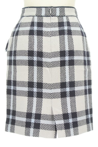 Rirandture(リランドチュール)の古着「チェック柄ウールスカート(スカート)」大画像2へ