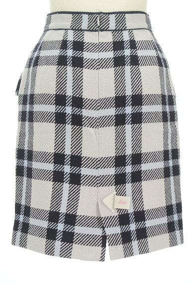 Rirandture(リランドチュール)の古着「チェック柄ウールスカート(スカート)」大画像4へ
